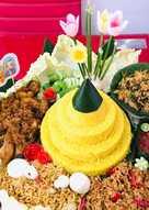 Resep Nasi Tumpeng : resep, tumpeng, Resep, Tumpeng, Cantik, Sederhana, Rumahan, Cookpad