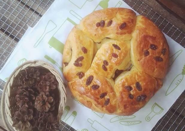 Roti SKM Kismis~Raisin Condensed Milk Bread ULEN TDK HRS ELASTIS