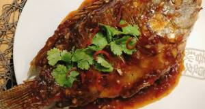 How To Make Crispy Fried Fish With Tamarind Sauce Recipe • Thai Style Pla Rad Prik