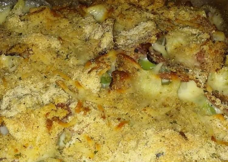 Ham & Cheese Casserole