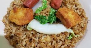 Nasi Goreng Sosis Nugget Ayam