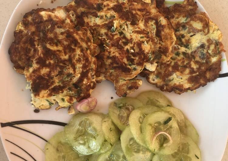 Omelette de morue