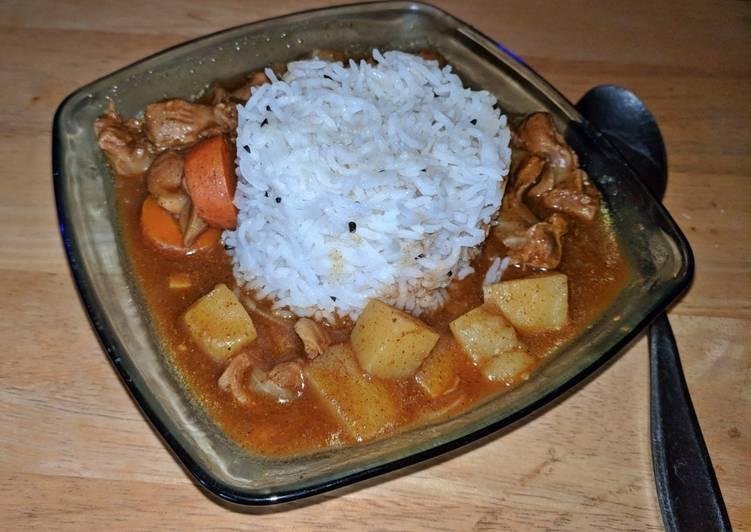 Chicken Curry Stew Instant Pot IP
