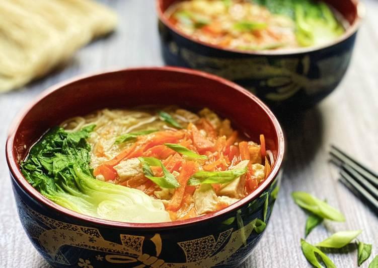 , Recipe: Tasty Egg Misua Noodles Soup