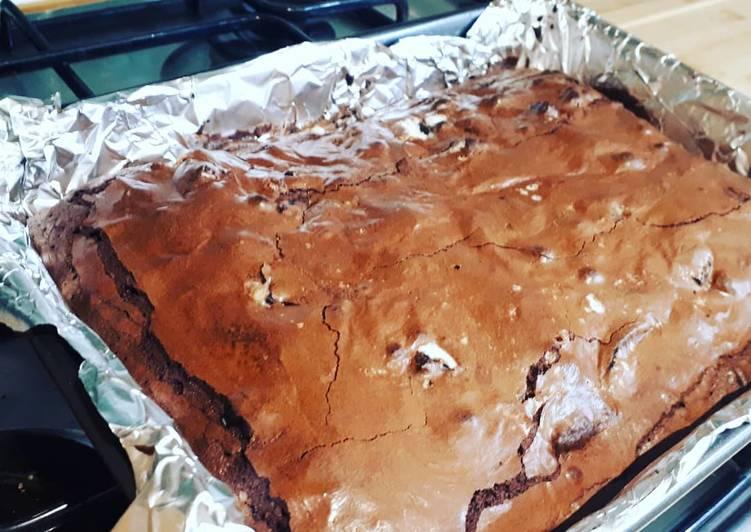 Chocolate Oreo brownies!!!