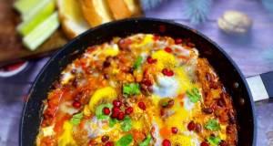 Egg Poached Vegetables