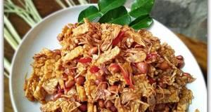 KERING TEMPE Kacang awet renyahnya + Tips