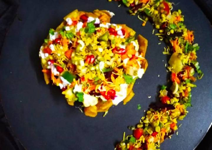 Sprouts Corn Tokri Chaat