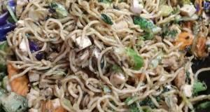 Chicken Teriyaki Noodle Stir-Fry