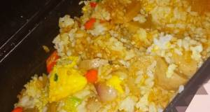 Nasi goreng sepuluh menit ala hotpot simple bikin kenyang tidurnya 😄😛