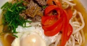 Sliced Beef Udon