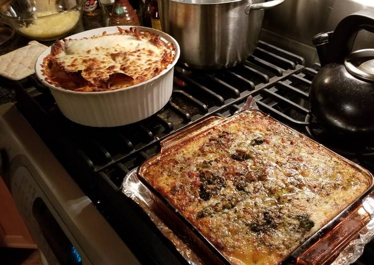 Low Carb Lasagna Adaptation