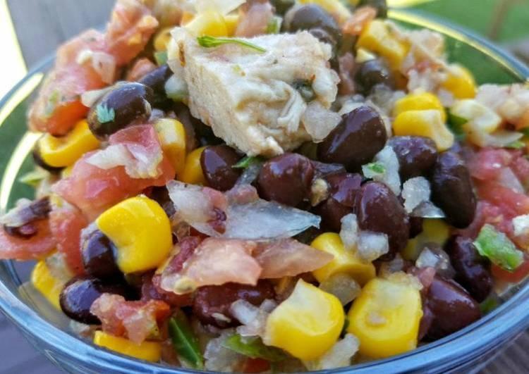 Pico De Gallo Chicken Salad