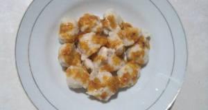 Bakso Ayam Saus Kacang