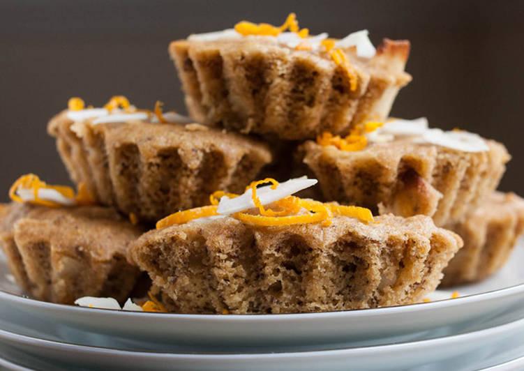 Butterless Orange Coconut Cake