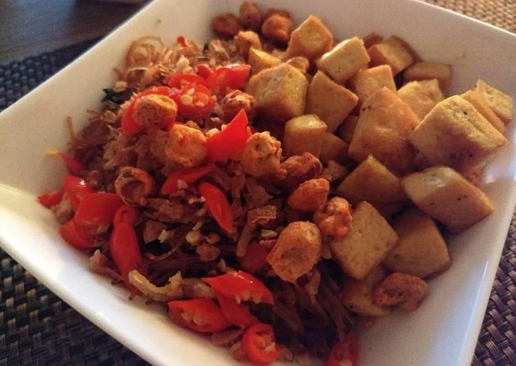 Indonesian Style Fried Tofu