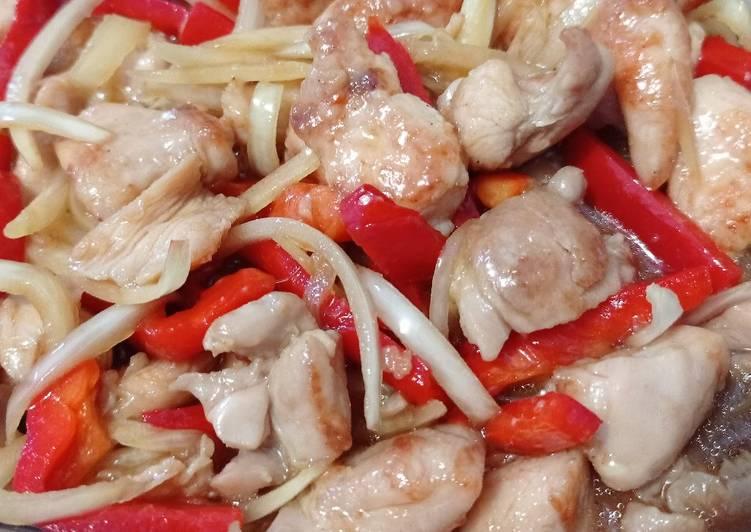 Japanese Chicken Nanban with Paprika