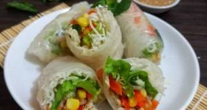 Vietnamese (Chicken) Spring Roll