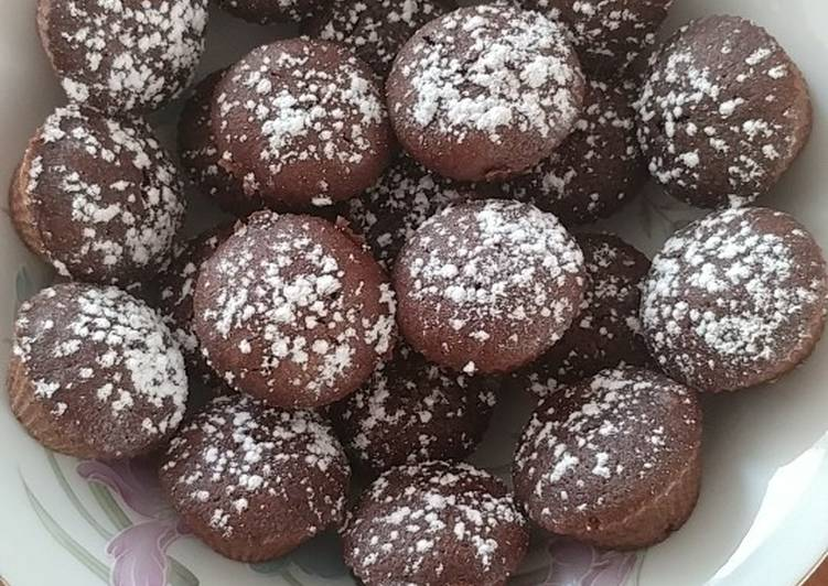 Muffins aux chocolats