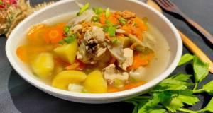 Sup Ayam Jamur Khas Bandung