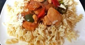 My Chicken Chilli 2with Pasta