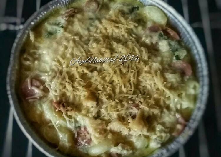 macaroni schotel lumerr for baby