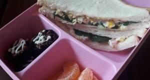 Sandwich Bayam Bekal Sehat Kita Semuaaa