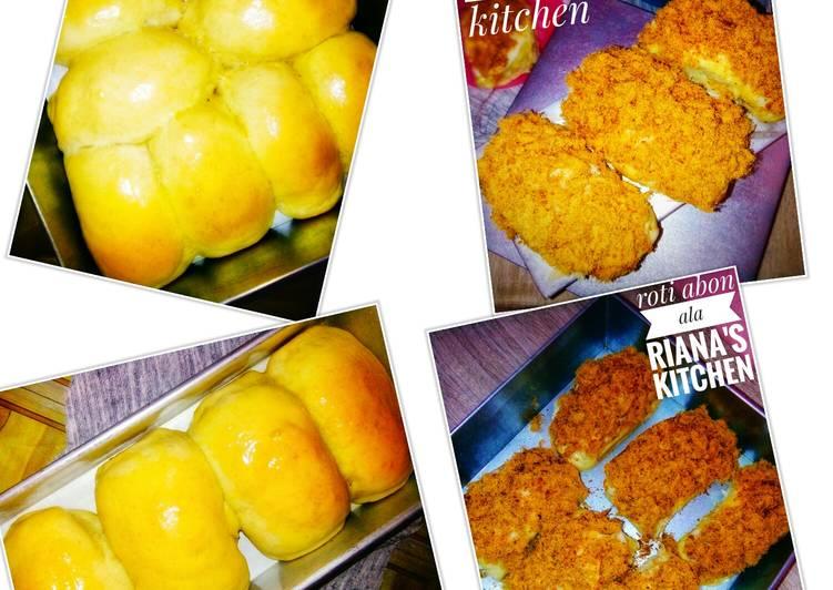 #Roti abon nostalgia ala riana's kitchen >>breadtalk kw#eggless