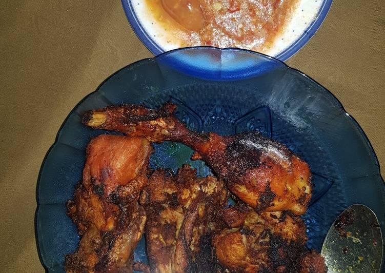 Ayam goreng rempah2 jhuie