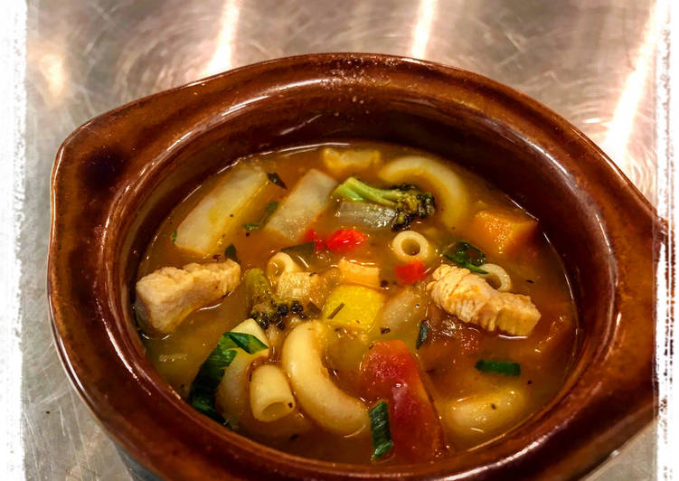 Chicken Minestrone Soup