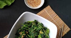 Salad Bayam Korea (Sigeumchi Namul)