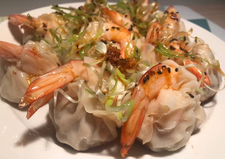 , Recipe: Delicious Pork & Prawn Prosperity Dumpling –  Chinese New Year Dish – Chilli Oil