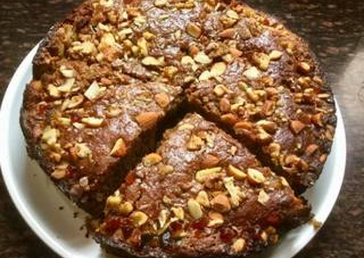 Jaggery-Wheat Cake
