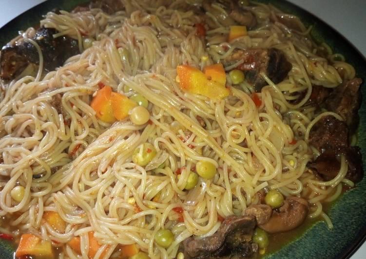 Jollof spagetti
