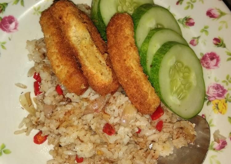Nasi goreng kampung anak kos