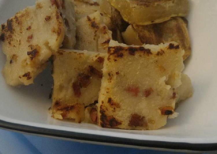 , Recipe: Appetizing Chinese Daikon (Turnip) Cake (蘿蔔糕)
