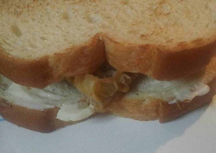 Beef Tripe Sandwich