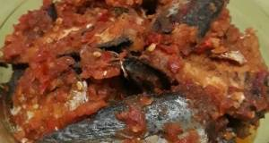 Ikan Salem Pindang Masak Balado