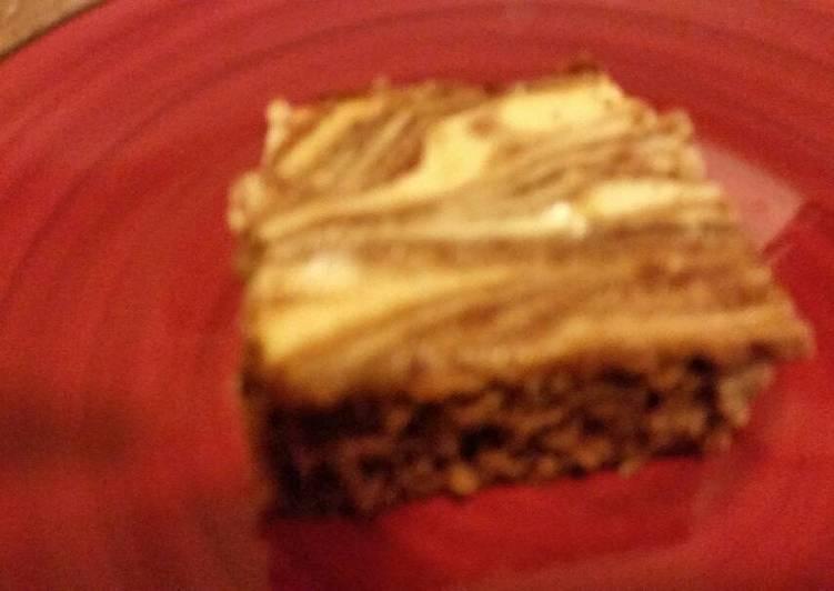 Cheese cake brownies