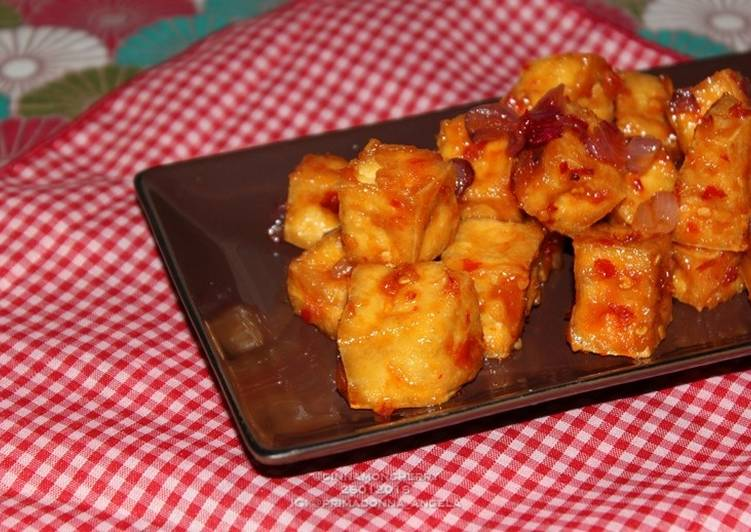 Sweet and Sour and Spicy Tofu