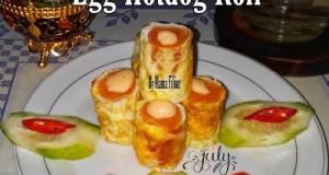 Egg Hotdog Roll