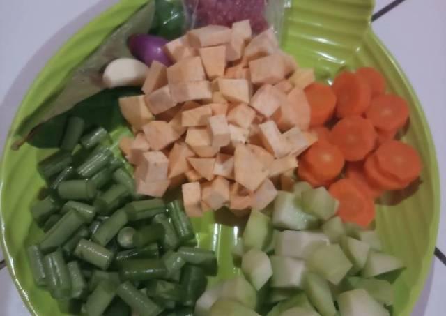 MPASI 7 bln daging sapi,ubi cilembu