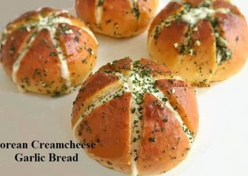 Resep Korean Creamcheese Garlic Bread Terbaik