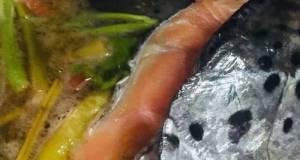 Salmon & Kang Kong In Tamarind Broth : Filipino Sinigang : Savoury Sour Soup Vs Tom Yum