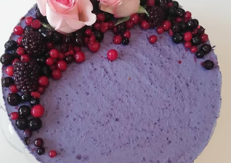 Blueberry cake (Vegan)