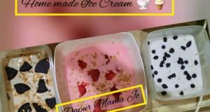 Ice Cream 3 Rasa OREO mocha -Strawberry raisin -Vanila choco