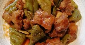 Sweet And Sour Ampalaya
