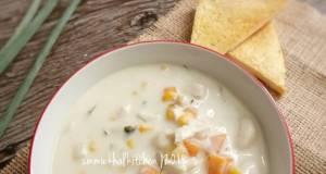 Sup Krim Ayam Jagung Macaroni