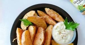 Potato Wedges Saus Tartar