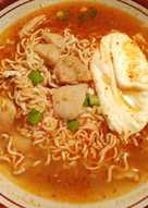 Mie Rebus Hok Lai, Makannya Sampe Ke Ruang Keluarga